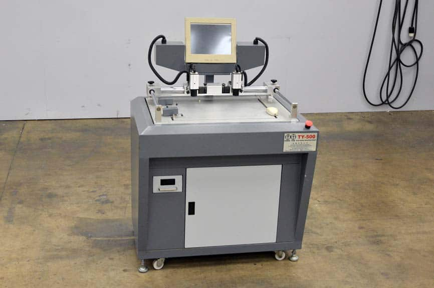 Tarngyun Ty 500 Electronic Register Punch Boggs Equipment