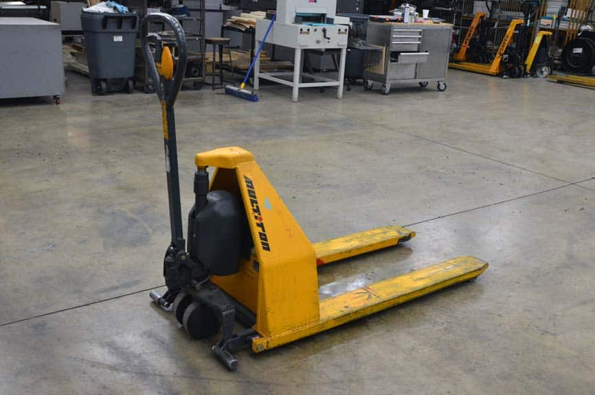 Multiton Electric Scissor High Lift Pallet Jack