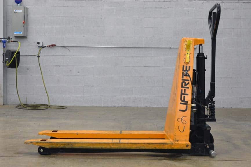 Lift-rite Electric Scissor High Lift Pallet Jack