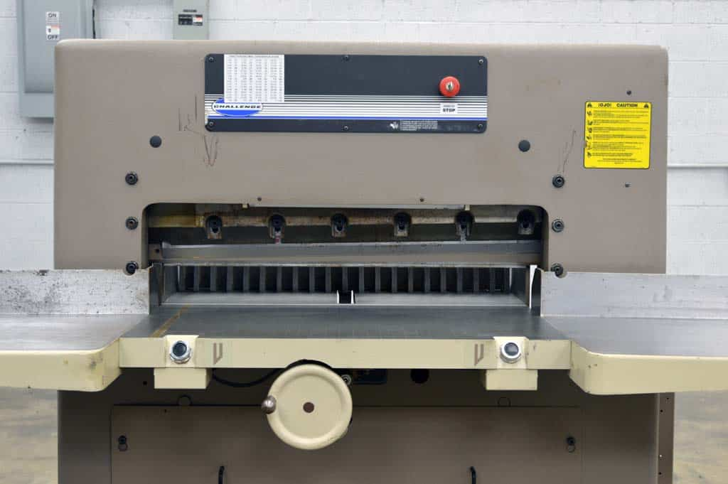 challenge paper cutter 305 manual