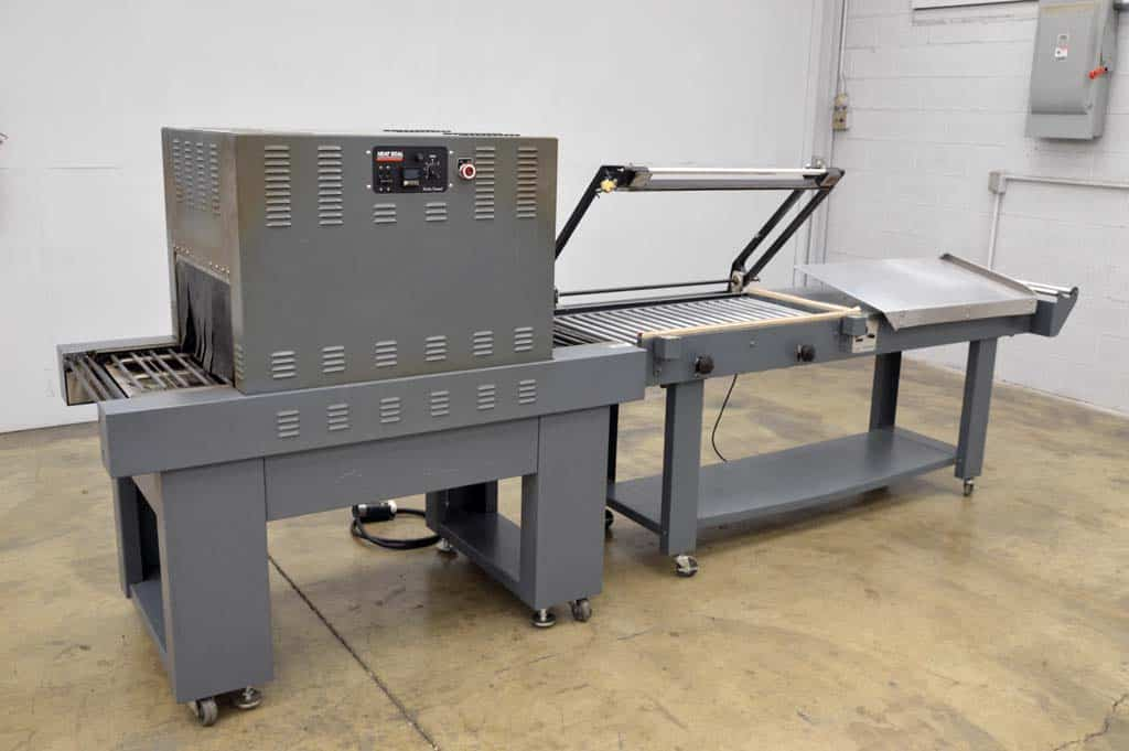 Clamco L-Bar Sealer with Turbo Shrink Tunnel