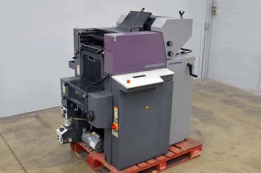 Heidelberg Quickmaster Press
