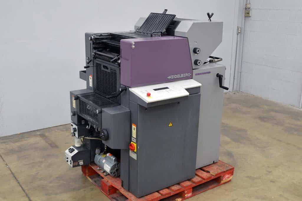 Heidelberg Quickmaster Press