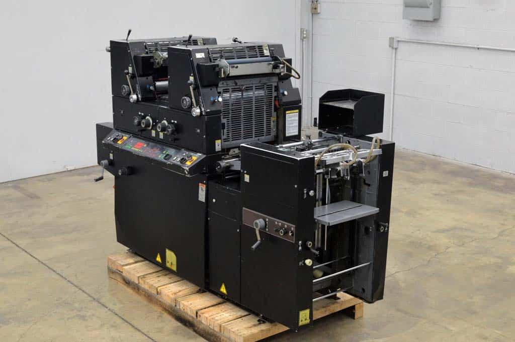 Ryobi Offset Press with Crestline Dampening System