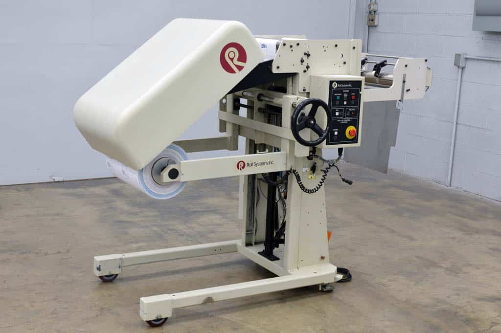 Roll Systems Rewinder
