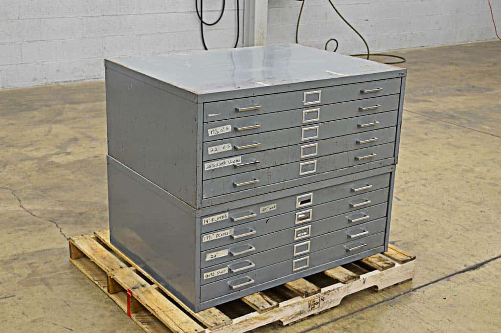 SAFCO Flat Filing Cabinet