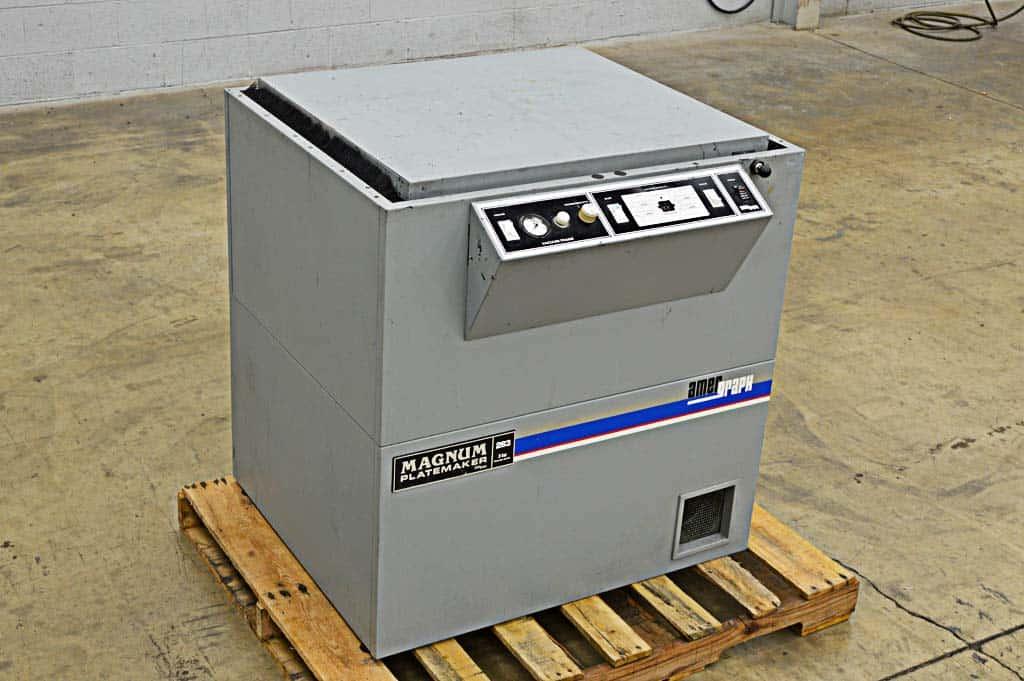 Amergraph 283 Magnum Platemaker Boggs Equipment