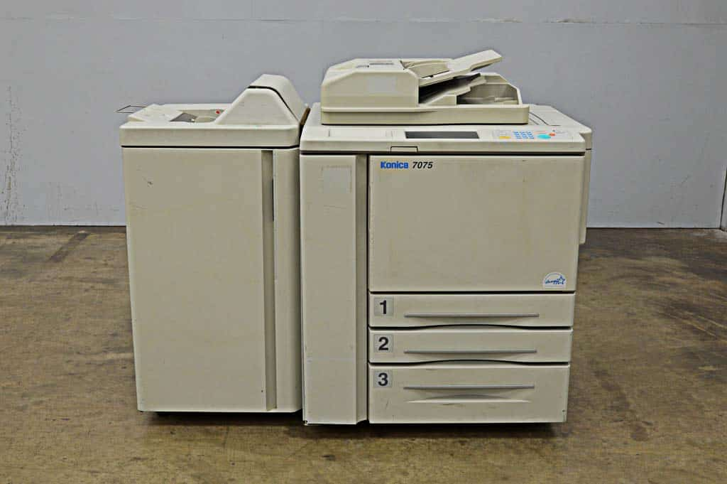 Konica 7075 Copier / Printer