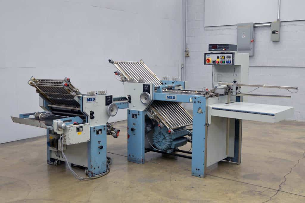 MBO T-49 Pile Feed Paper Folder