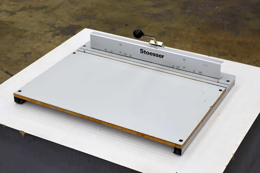 Stoesser Plate Punch Boggs Equipment