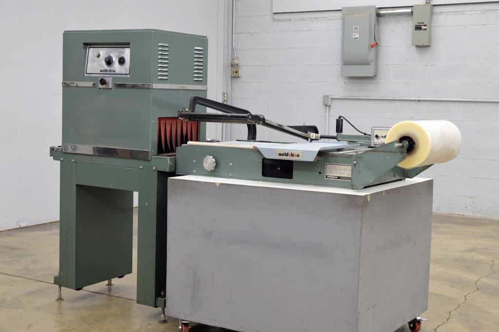 Weldotron Manual L-Bar Sealer and Heat Tunnel