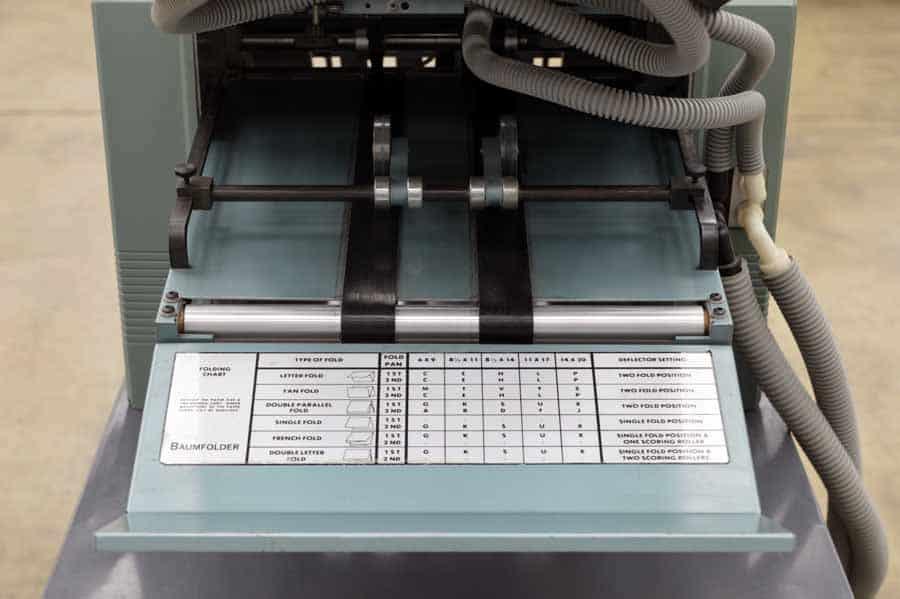 Baum 714 Ultrafold Paper Folder 052317083654 Boggs