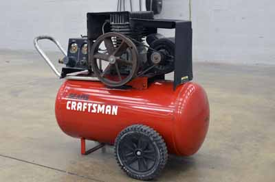 Craftsman 33 Gallon 1 7 Hp Oil Free Horizontal Air