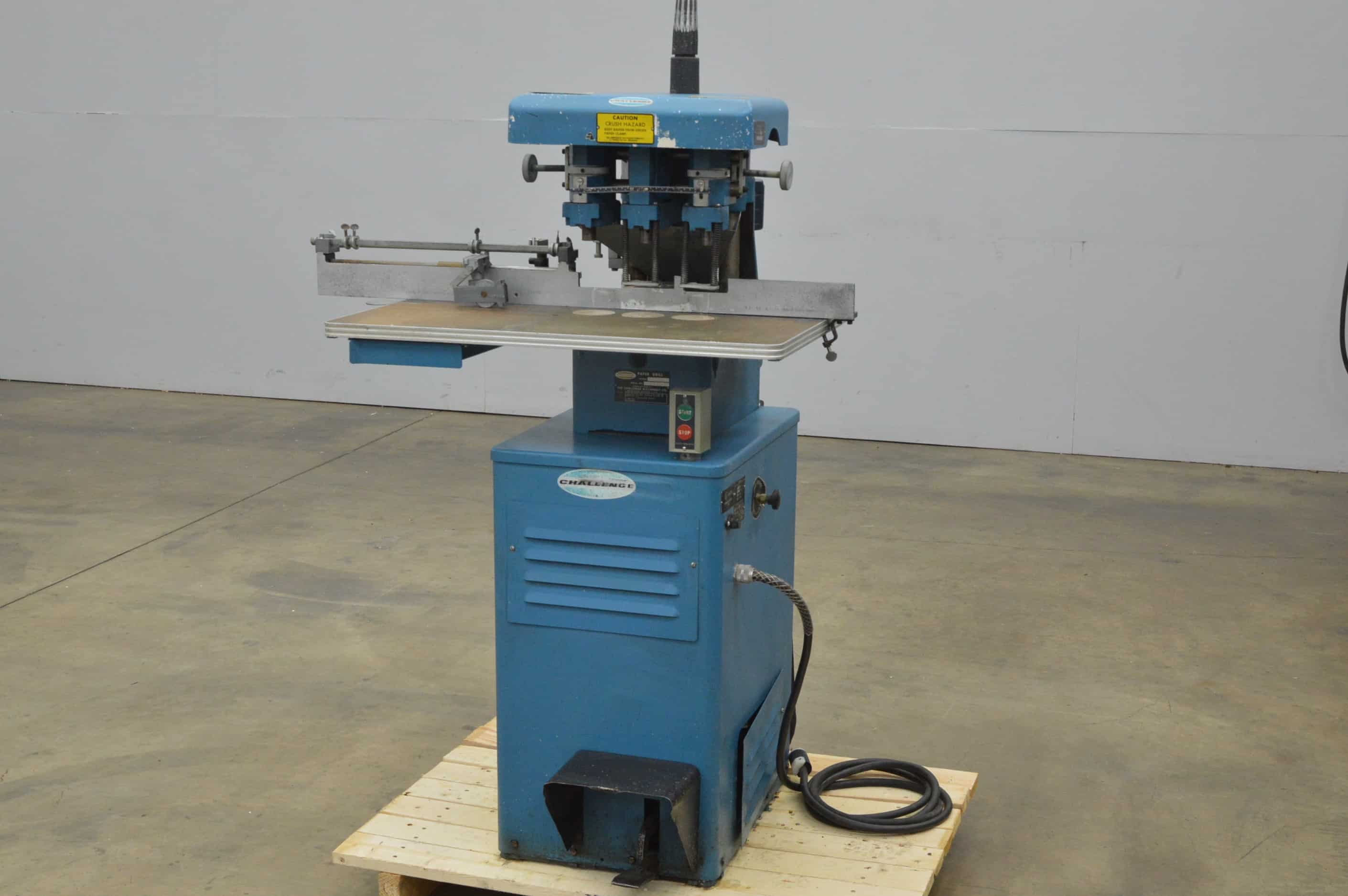 Challenge EH3A Paper Drill