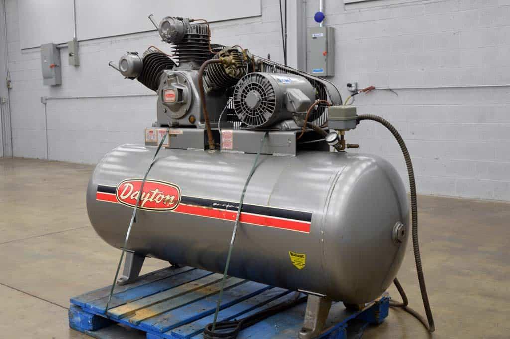 Dayton air compressor service manual 3z999a for Dayton air compressor motor