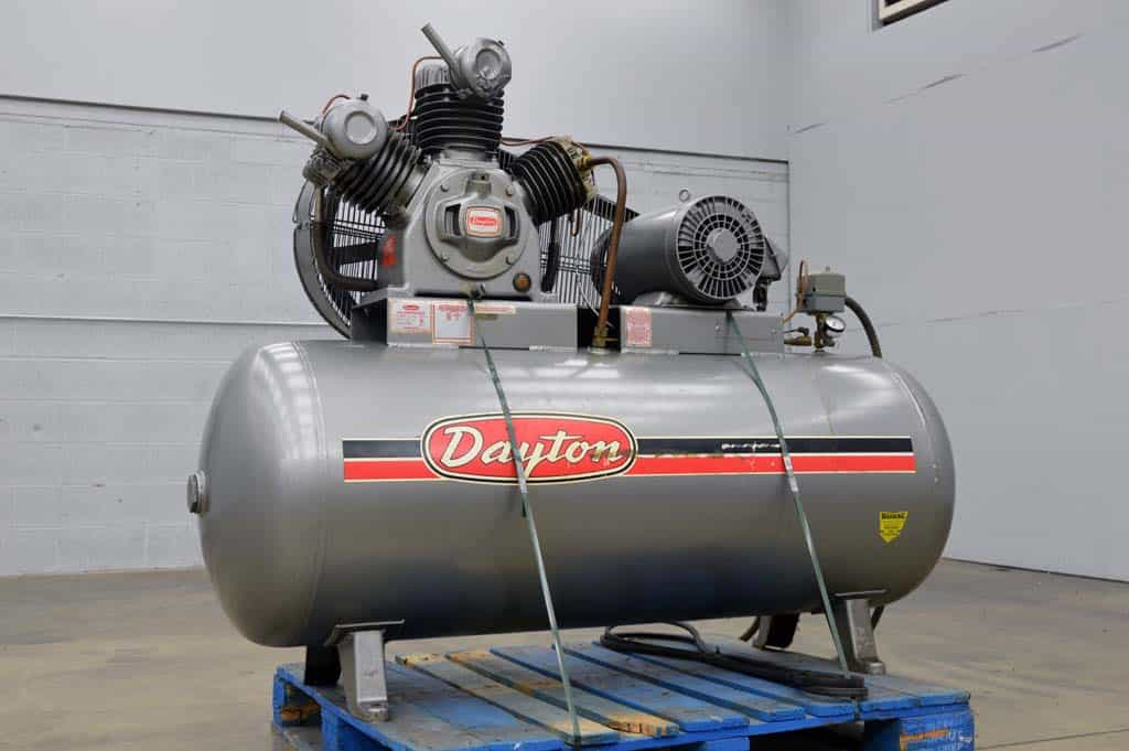 Dayton 3z96a Air Compressor Boggs Equipment