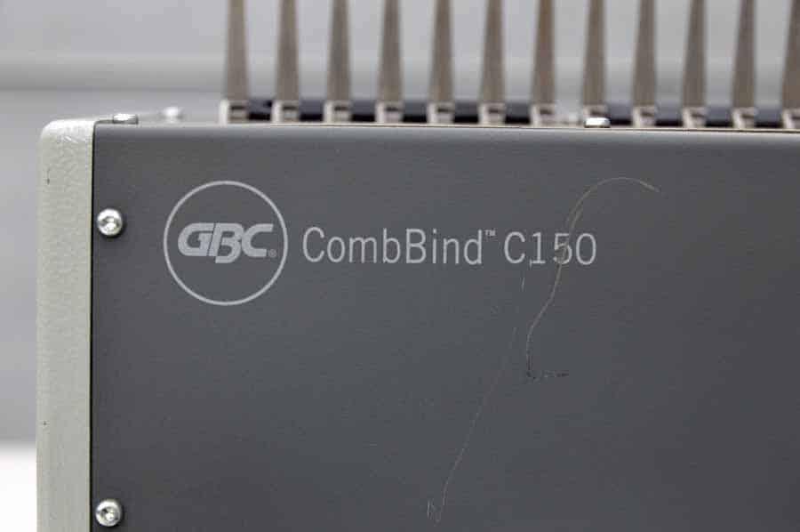 GBC CombBind C150 Plastic Comb Binding Machine
