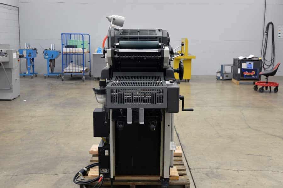 printing press operator job description