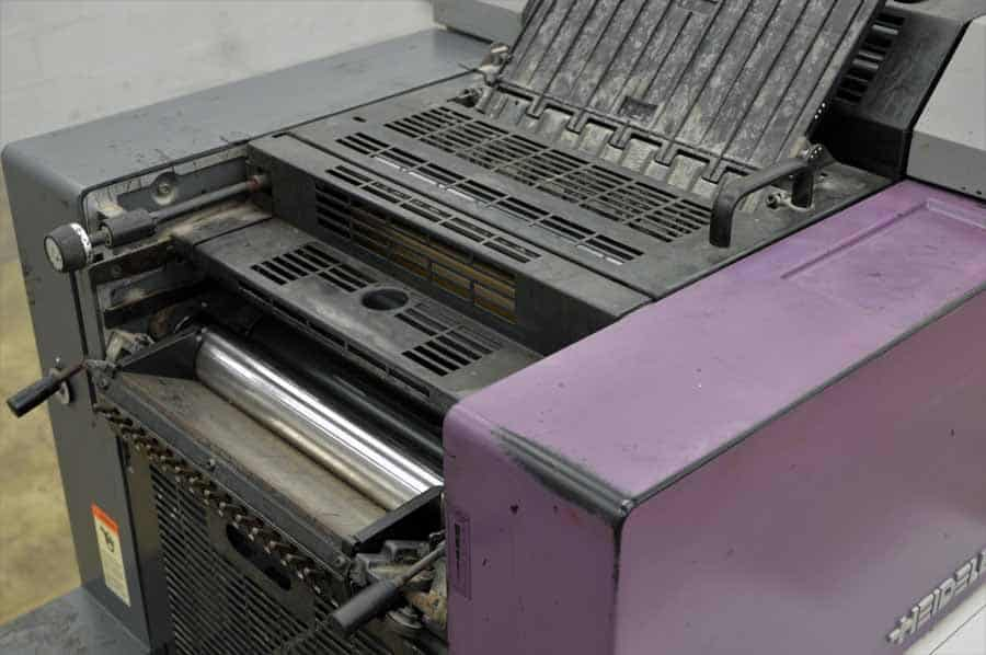 Heidelberg Printmaster QM-46 Two Color Printing Press