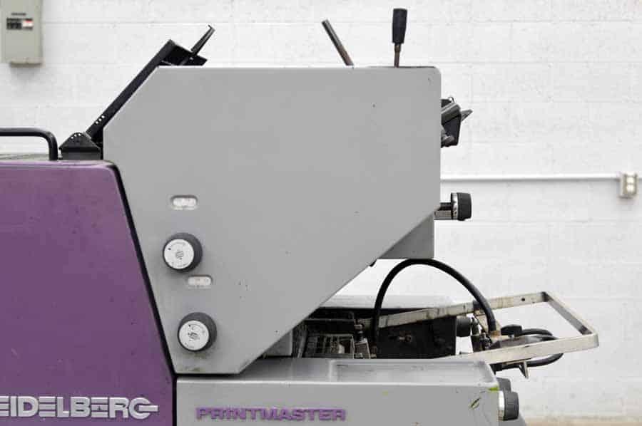 Heidelberg Printmaster QM-46 Two Color Printing Press