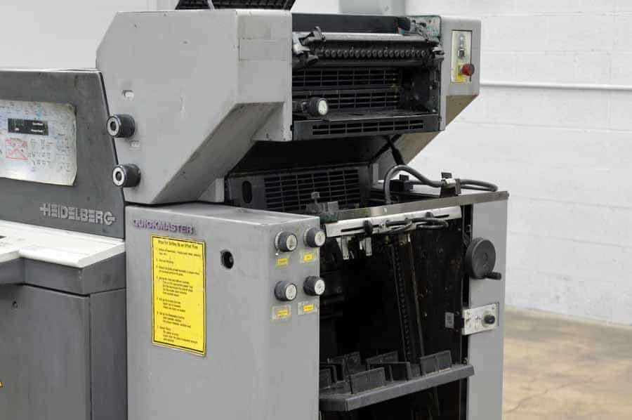 1996 Heidelberg Quickmaster QM-46-2 Two Color Printing Press