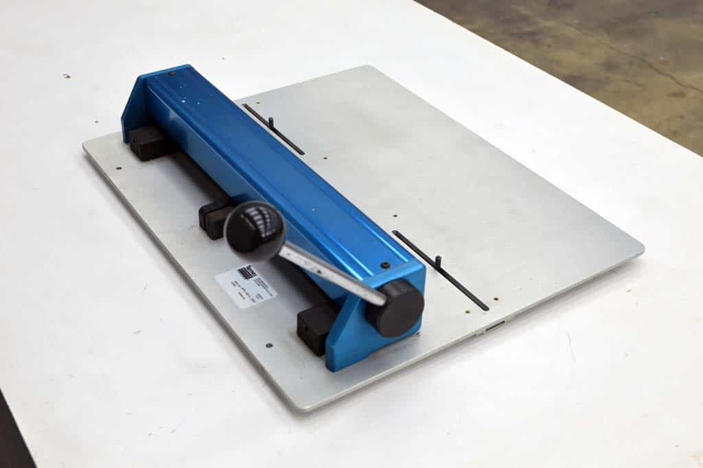 Ternes Register System Infinity Plate Punch Boggs Equipment