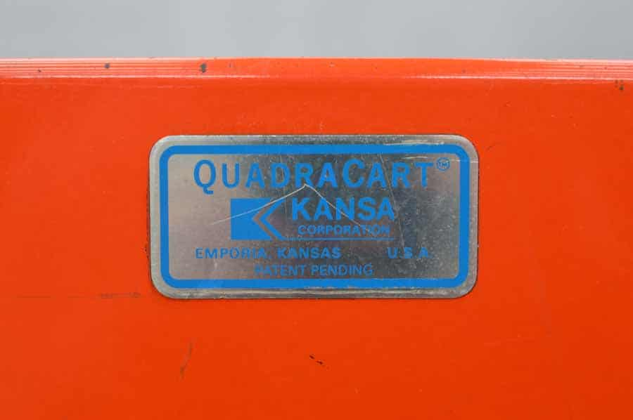 Kansa Quadracart Bindery Cart
