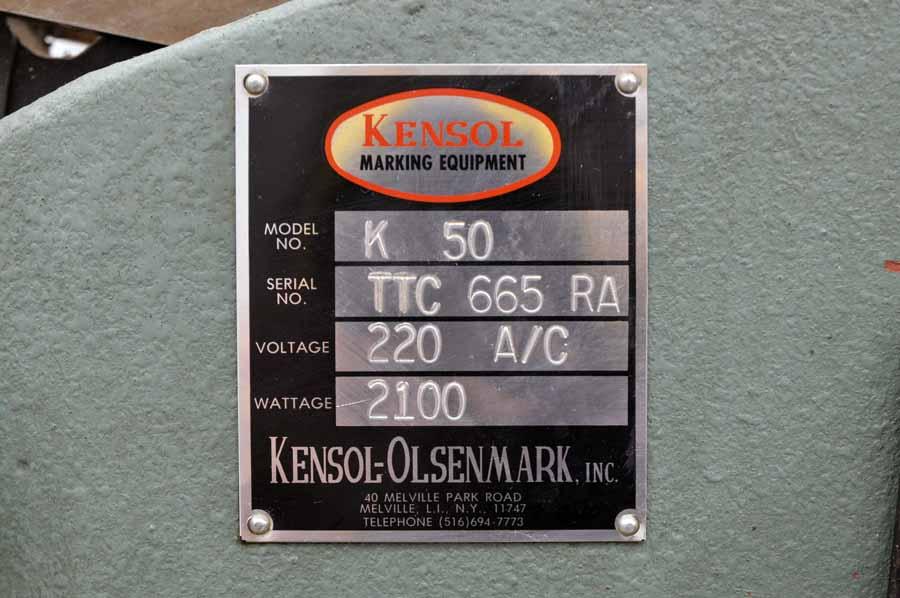 Kensol K/50 Hot Stamper