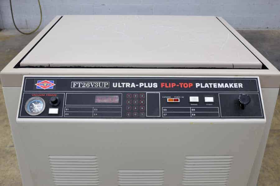 NuArc Ultra Plus Flip Top Platemaker
