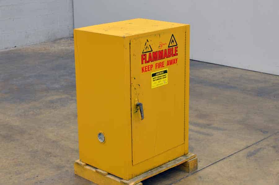Safety Storage Cabinet For Flammable Liquids Boggs Equipment
