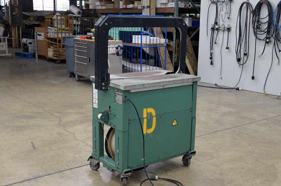Signode LB 2000 Walkup Case Strapper