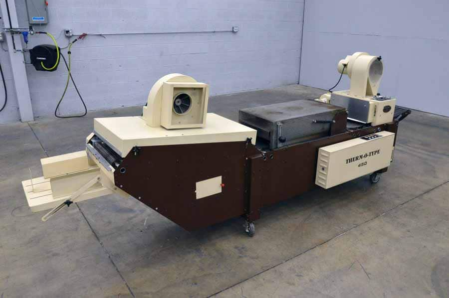 Therm-O-Type 450-D Thermography Machine