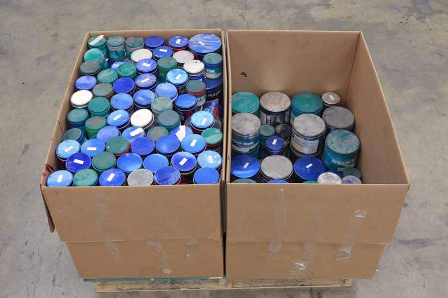 600 LBS of Miscellaneous Ink