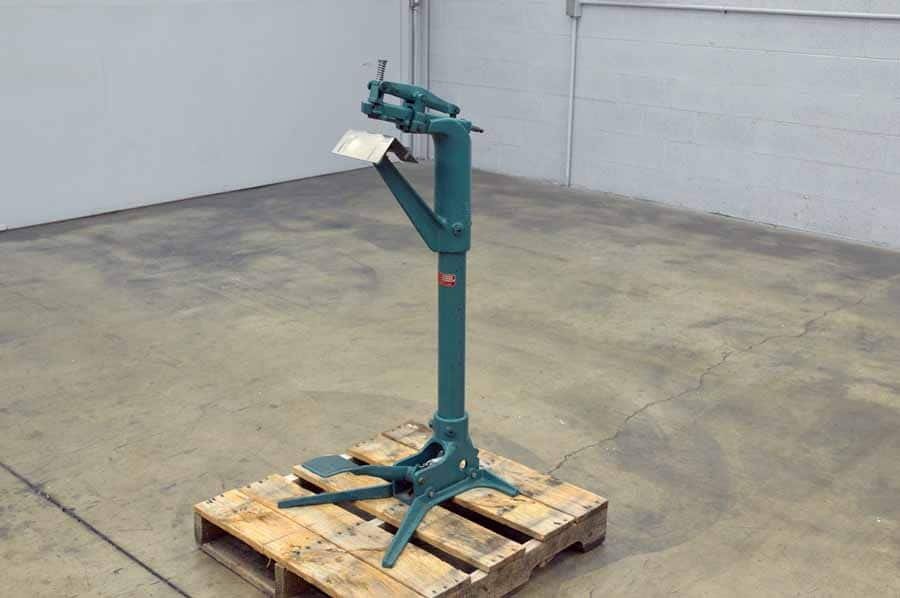 Acme Model 706 Flat and Saddle Stapler / Foot Operated