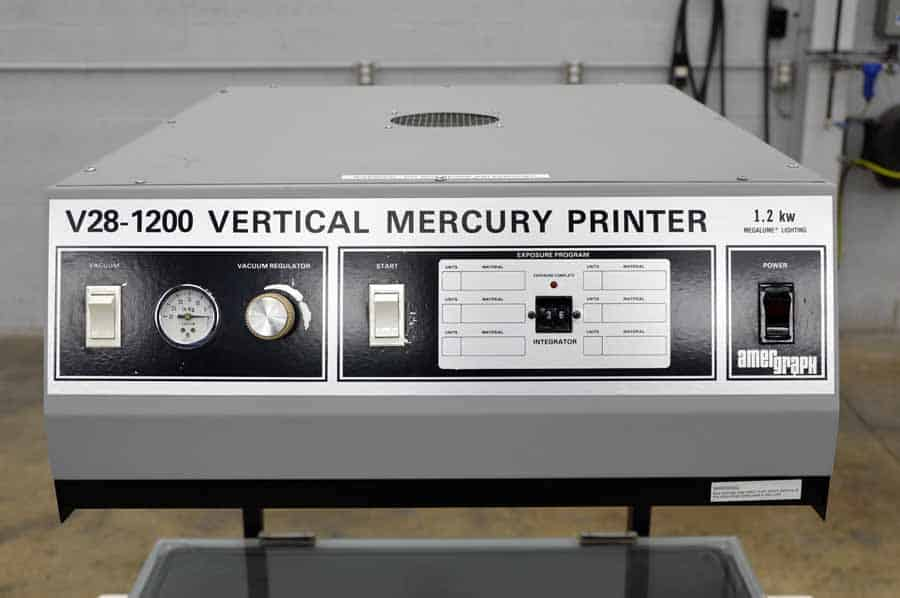 Amergraph V28-1200 Vertical Mercury Printer