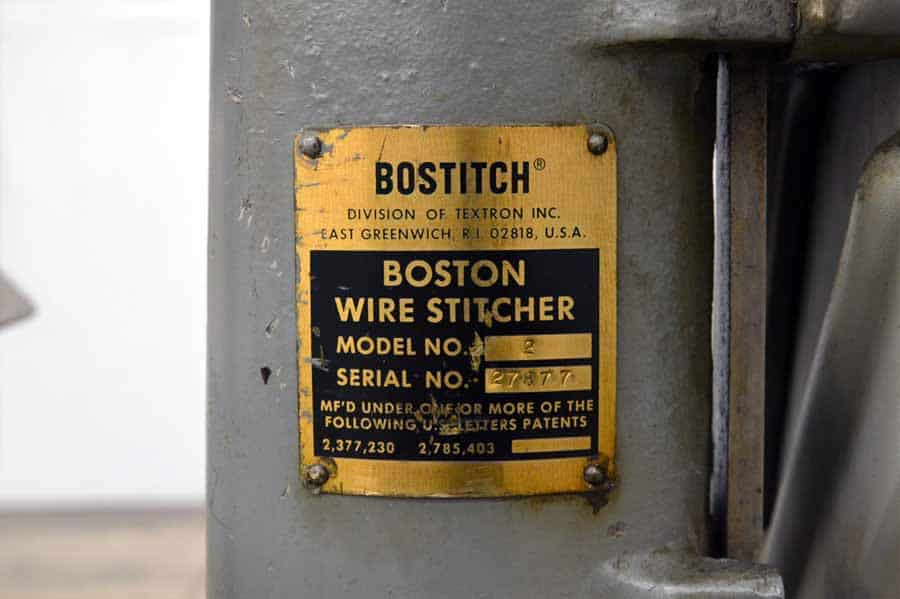 Bostitch No. 2 Wire Stitcher