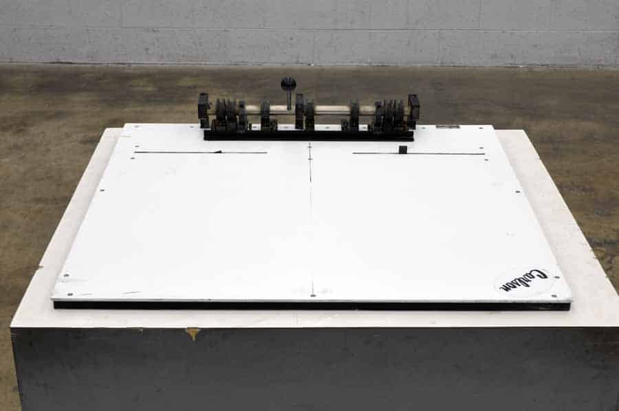 Carlson Table Top Plate Punch