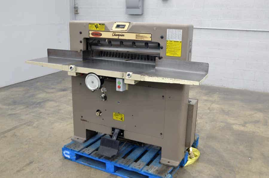 paper cutters for sale Prosource packaging is proud to offer a wide selection of heavy duty paper cutters, including slitting machines and rotary paper cutters clean, precise cuts rely on quality equipment utilize the finest heavy duty paper cutters available at machine-solutioncom  the staff at machine-solutioncom hit a home run today with a sale of a.