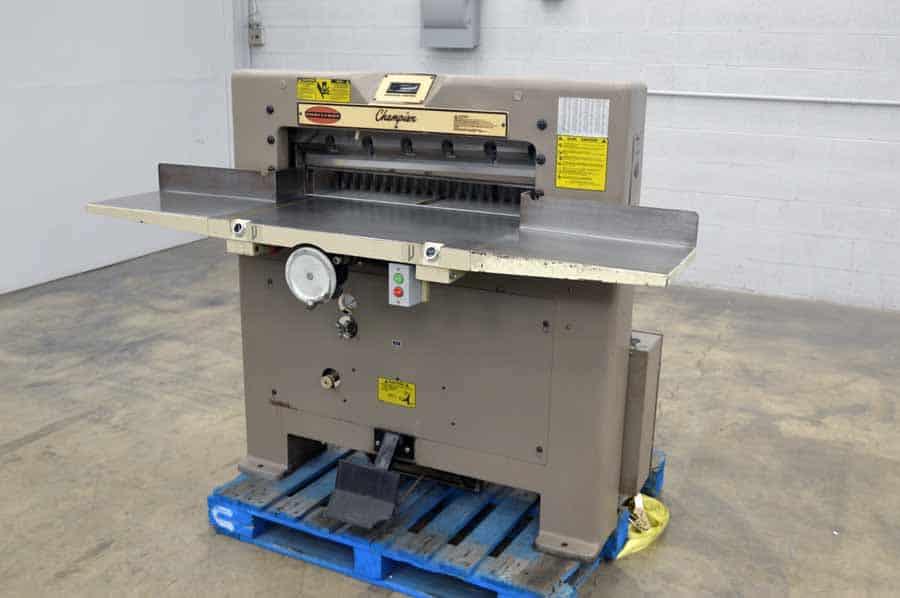 """Challenge 305 MC 30.5"""" Paper Cutter w/ Digital Readout"""