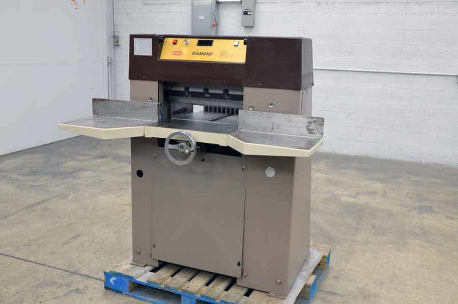 """Challenge Diamond 193 - 19.3"""" Paper Cutter with Power Cut and Clamp"""