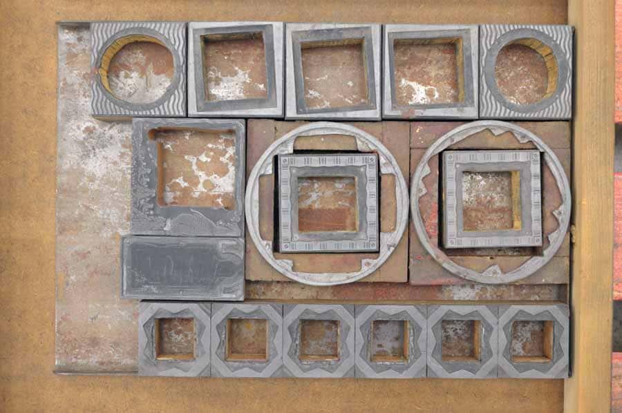 Squares / Circles / Zincs Mixed