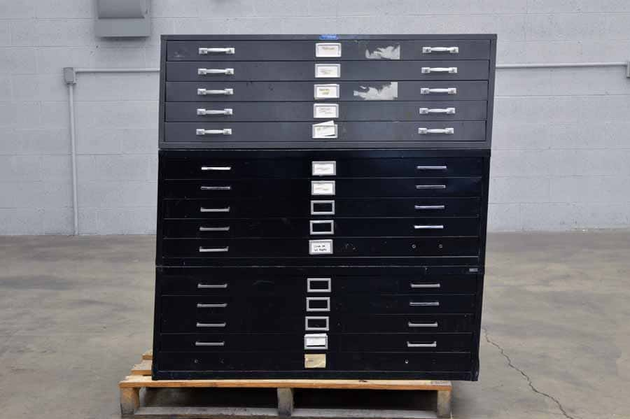 Foster Flat Metal Filing Cabinets