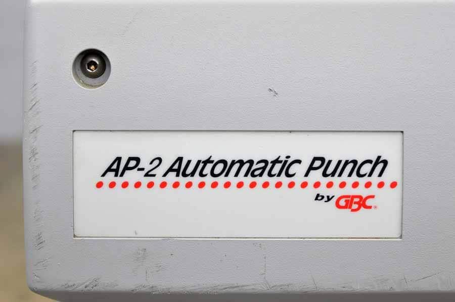 GBC AP-2 Automatic Punch