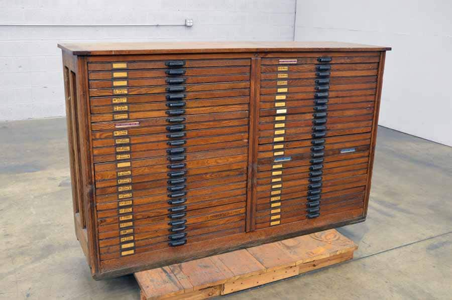 Hamilton Type Cabinet - Over 100 Years Old
