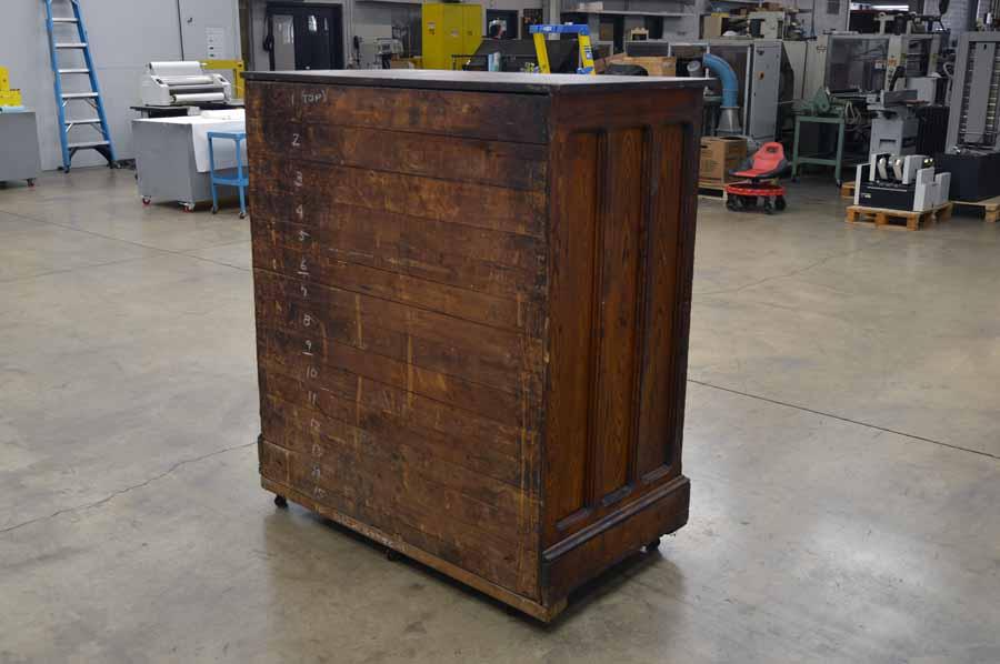Hamilton 20 Drawer Type Cabinet - 060517020211 | Boggs ...