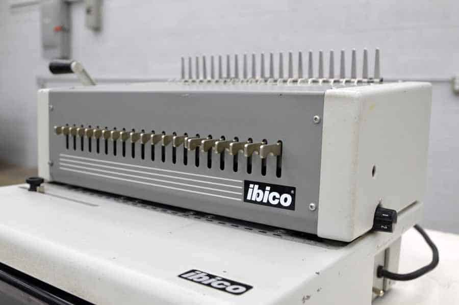 ibico epk 21 binding machine