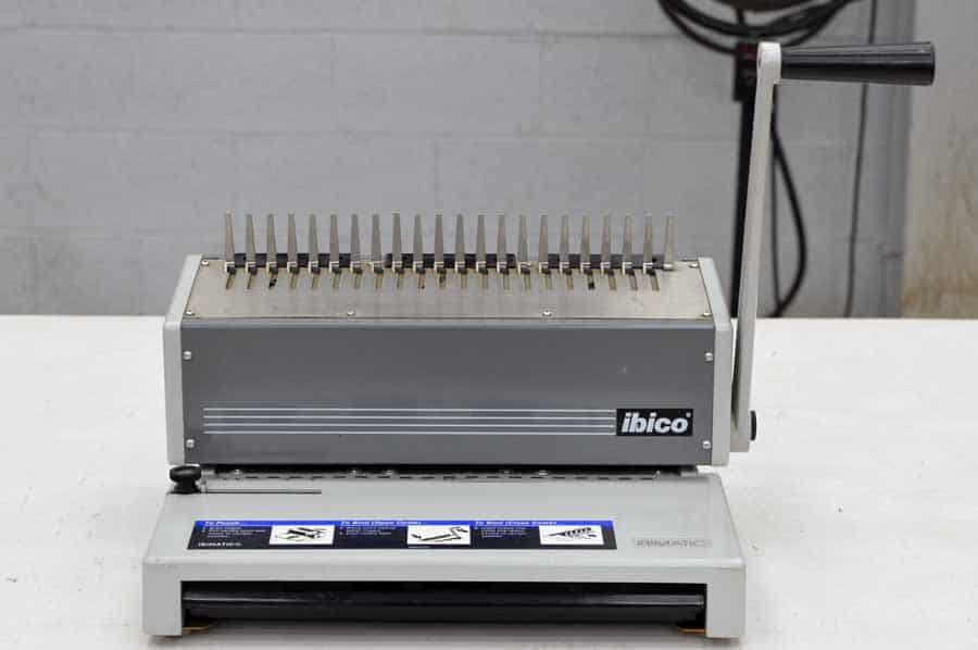 Ibico Ibimatic Plastic  b Binding System on coil binding supplies