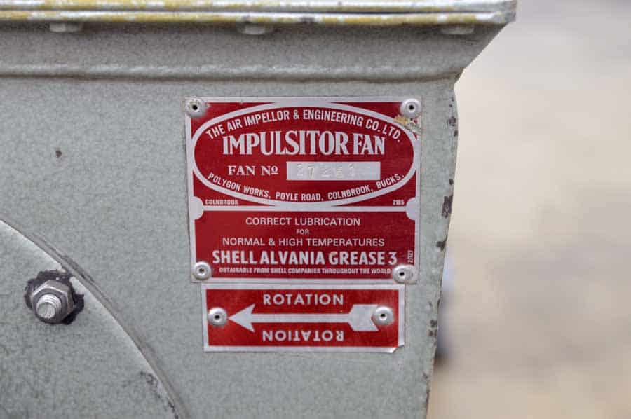 The Air Impellor and Engineering Co. Impulsitor Fan