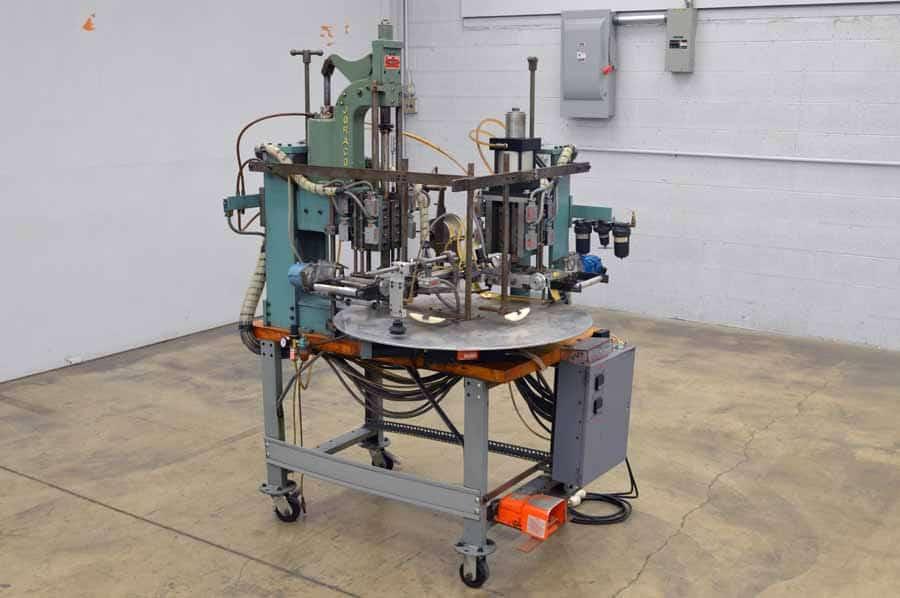 AIM Joraco Model 1030 Pneumatic ( Air Driven ) Toggle Press