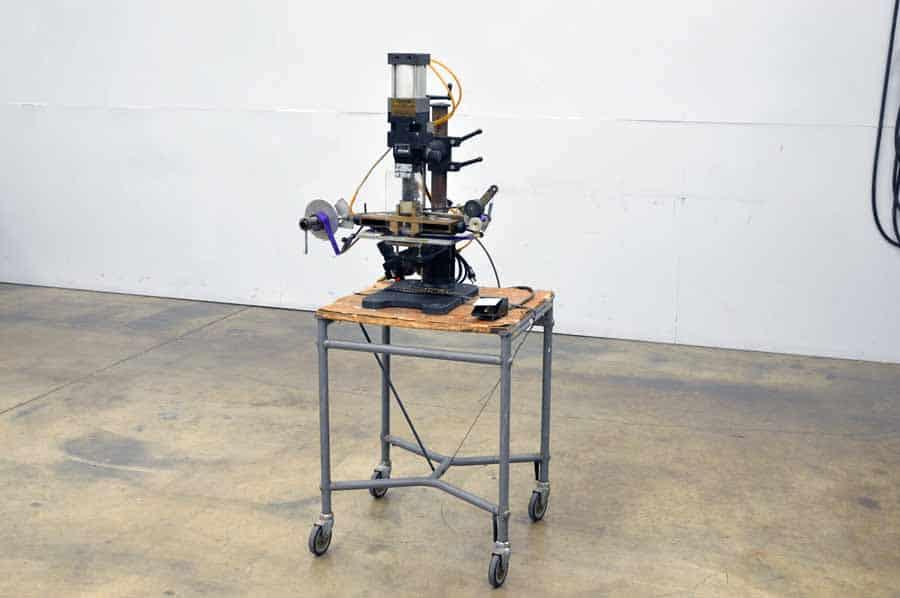 Kwikprint Model 86 Foil Stamping Machine